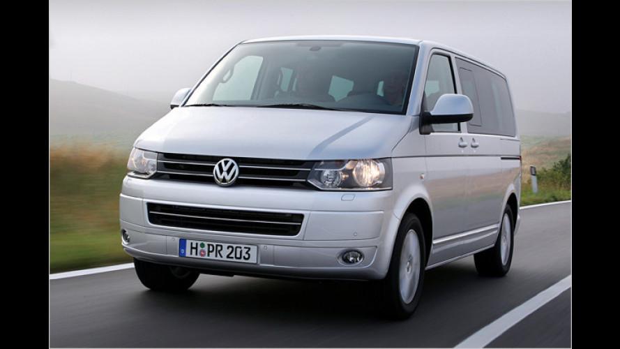 Bearbeiteter Bulli: VW zeigt das T5-Facelift
