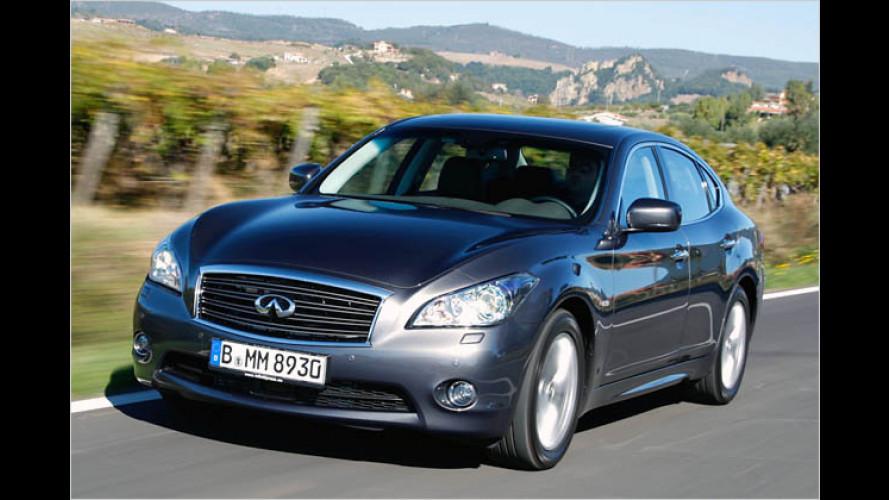 Infiniti M30d: Neuer Luxus-Diesel für Europa