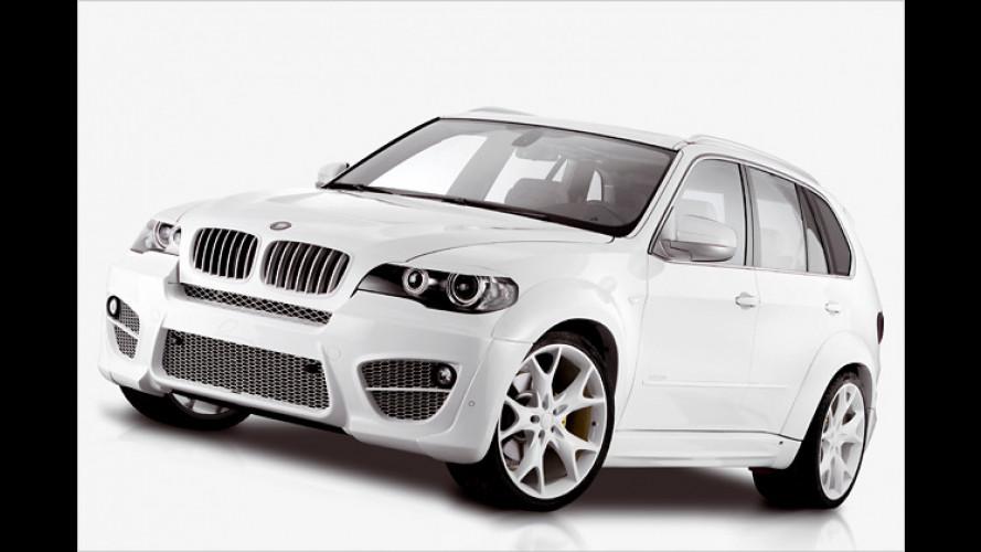 Der weiße Riese: Lumma CLR X530 auf BMW-X5-Basis