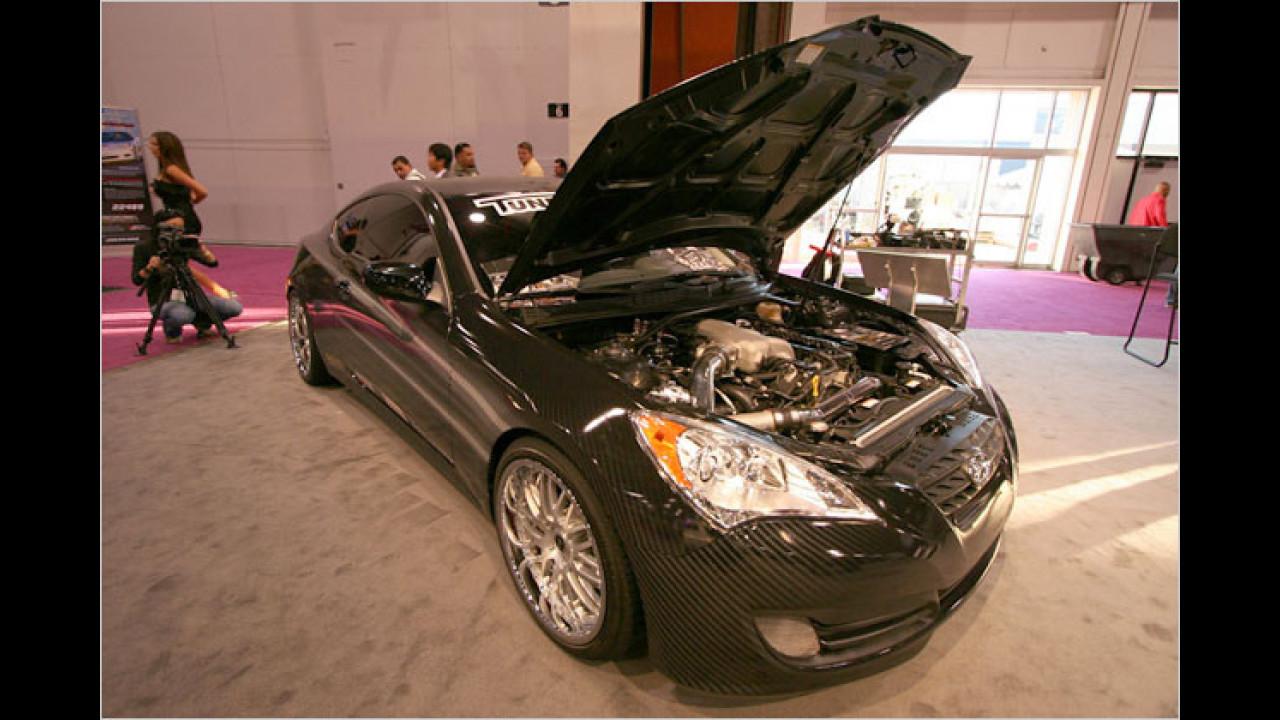 Hyundai Genesis Coupe von Hennessey