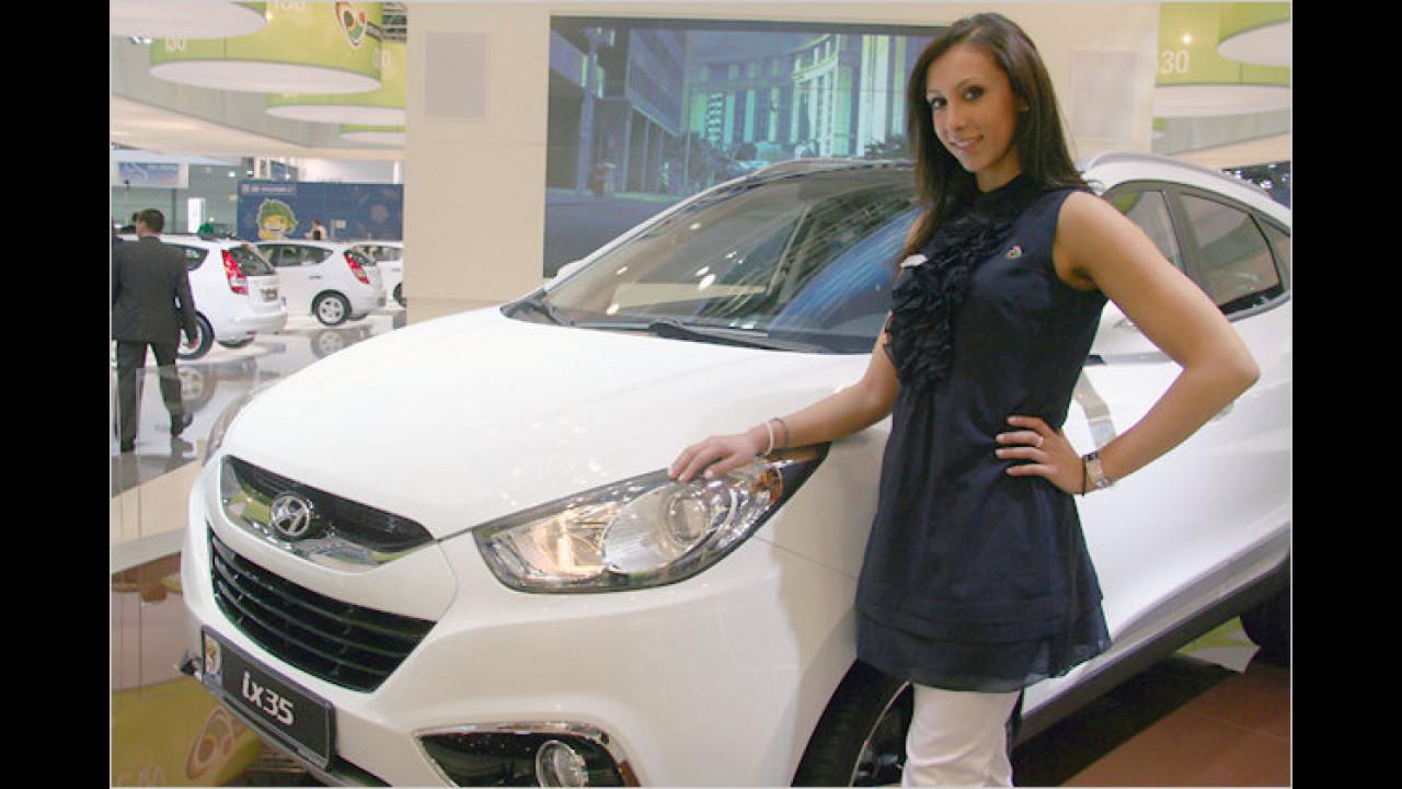 Ah Hyundai: Der iX35 ist ganz neu oder?