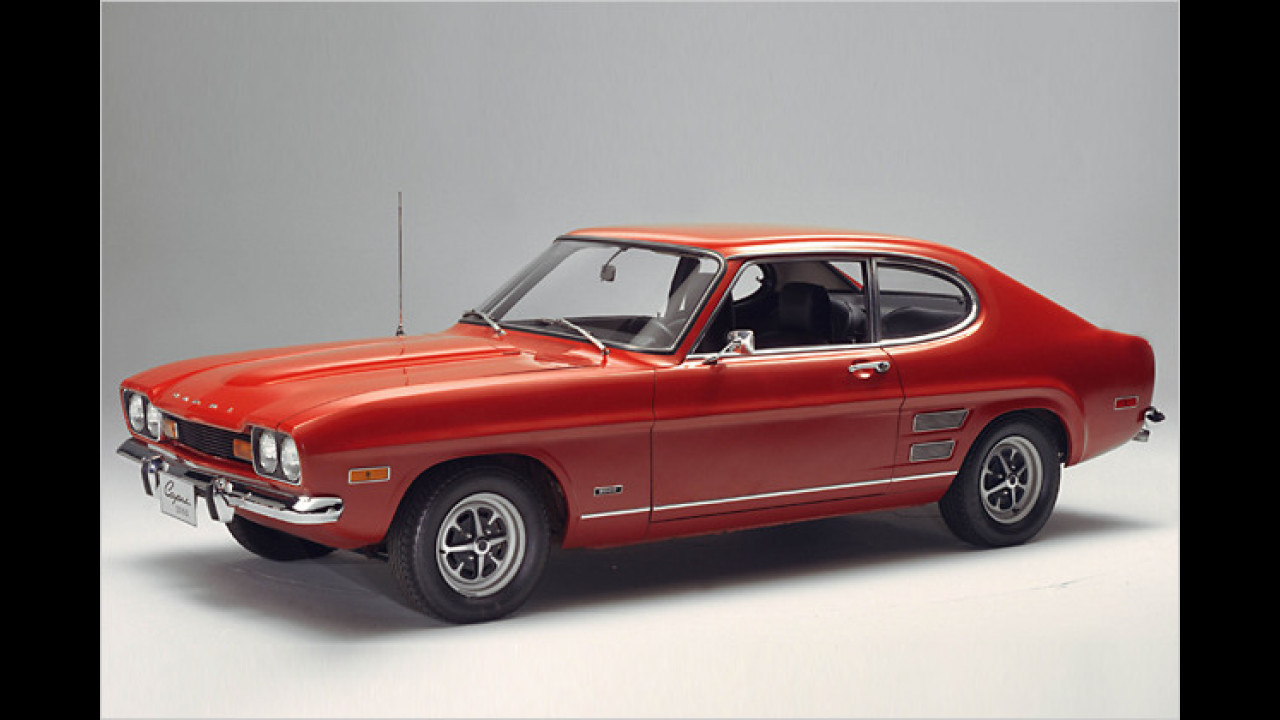 Der andere Manta? Der Ford Capri hat seit seinem Genf-Debüt 1973 viele Freunde