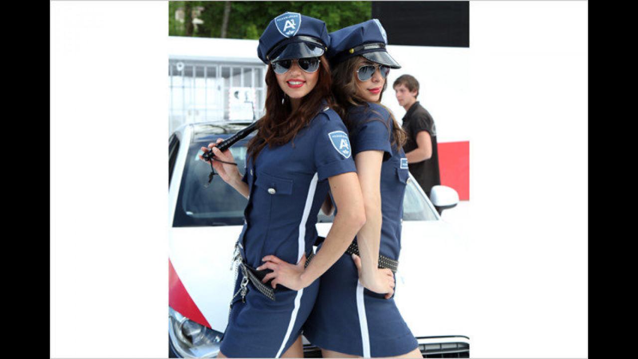 Natascha und Silvana: Hier lassen wir uns gern kontrollieren