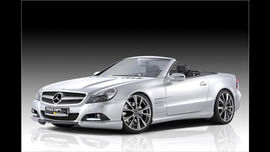 Grollender Stern: Mercedes SL von Piecha Design