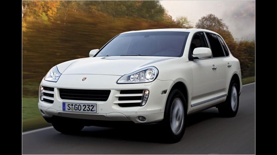 Premiere bei Porsche: Der Cayenne bekommt einen Diesel