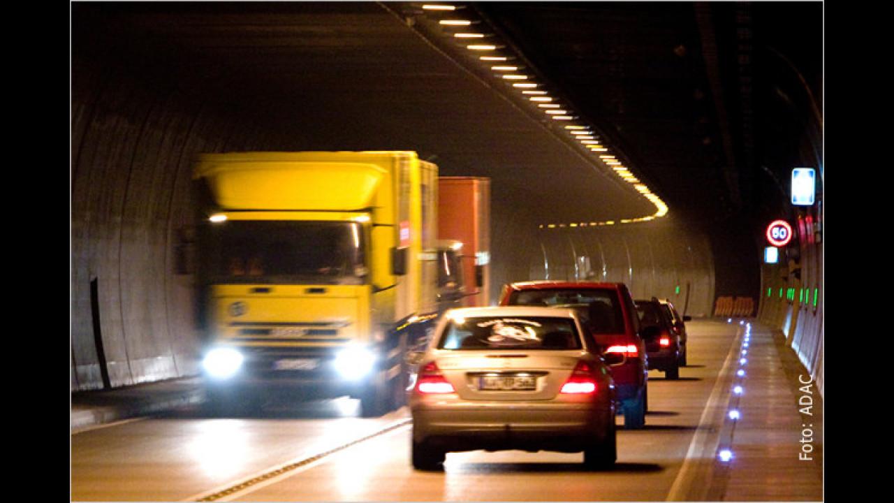 Keine Panik vor Tunnels