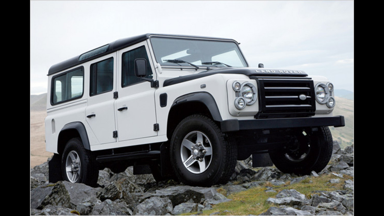 Fire & Ice bei Landrover