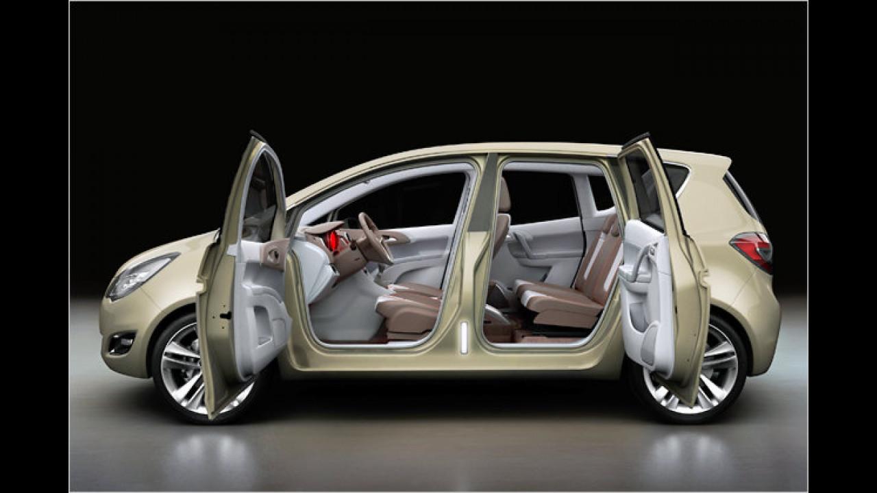 Aus dem Opel Meriva Concept ...