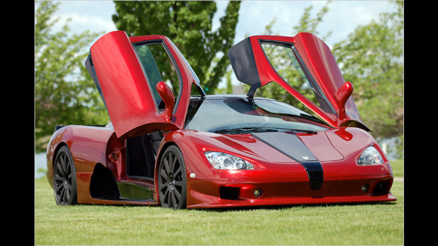 SSC Ultimate Aero: Tempo-400-Flitzer kommt nach Europa