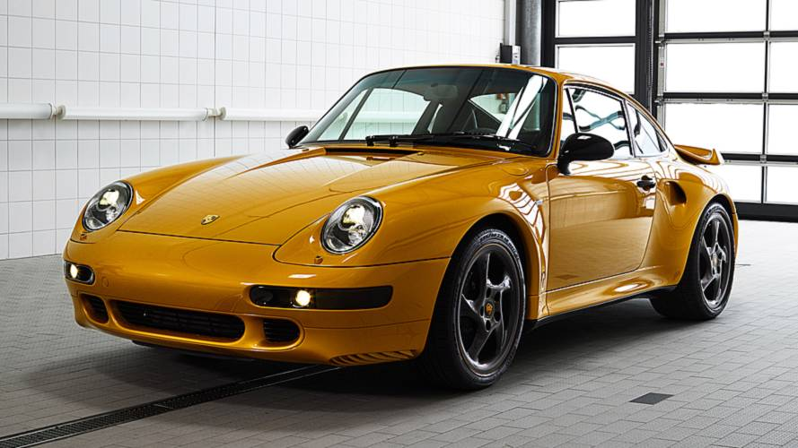 Porsche Project Gold, la 993 Turbo rivive così
