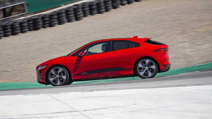 Le Jaguar I-Pace décroche un record sur le circuit de Laguna Seca