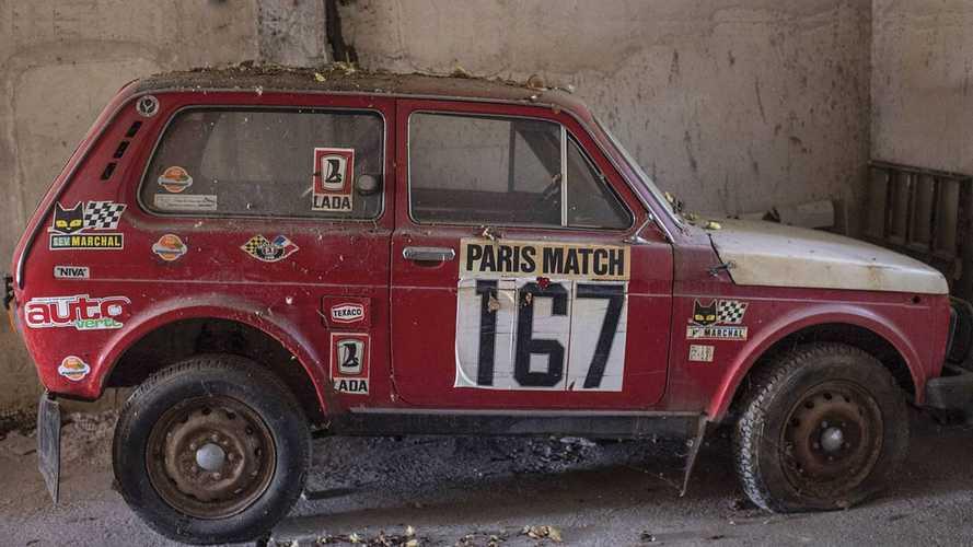 Si buscas un coche del Dakar, la subasta de este Lada Niva te interesa