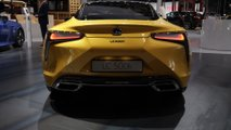 Lexus LC Yellow Edition at the Paris Motor Show