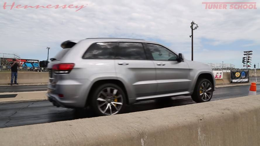 Hennessey Jeep Trackhawk Defies Physics, Does 9.66 Quarter-Mile