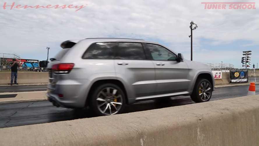 Hennessey Jeep Trackhawk mit 1.200 PS verhöhnt die Physik