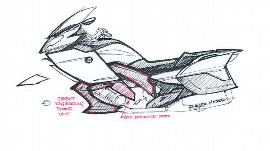 Designing the BMW K 1600 GT