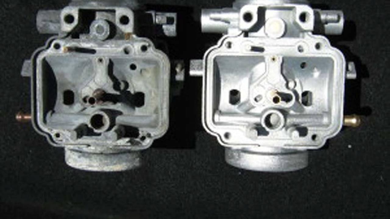 restoring motorcycle engine cases