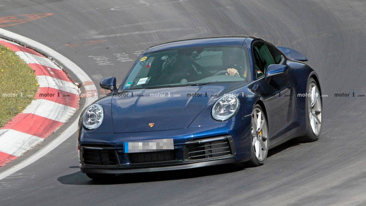 Porsche 911 Nürburgring spy photo