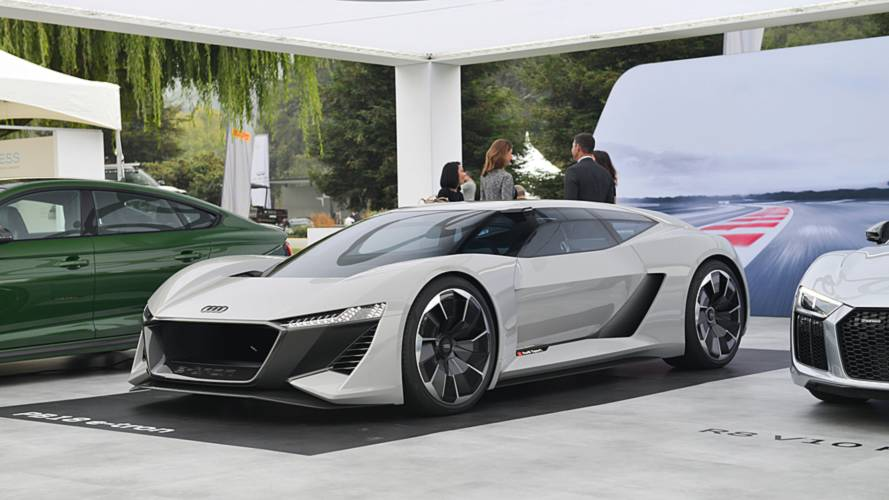 Audi PB Concept Imagines HP DriverFocused EV Supercar - Audi concept