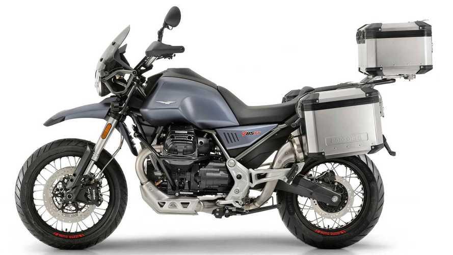 Moto Guzzi V85 TT Officially Unveiled At Intermot