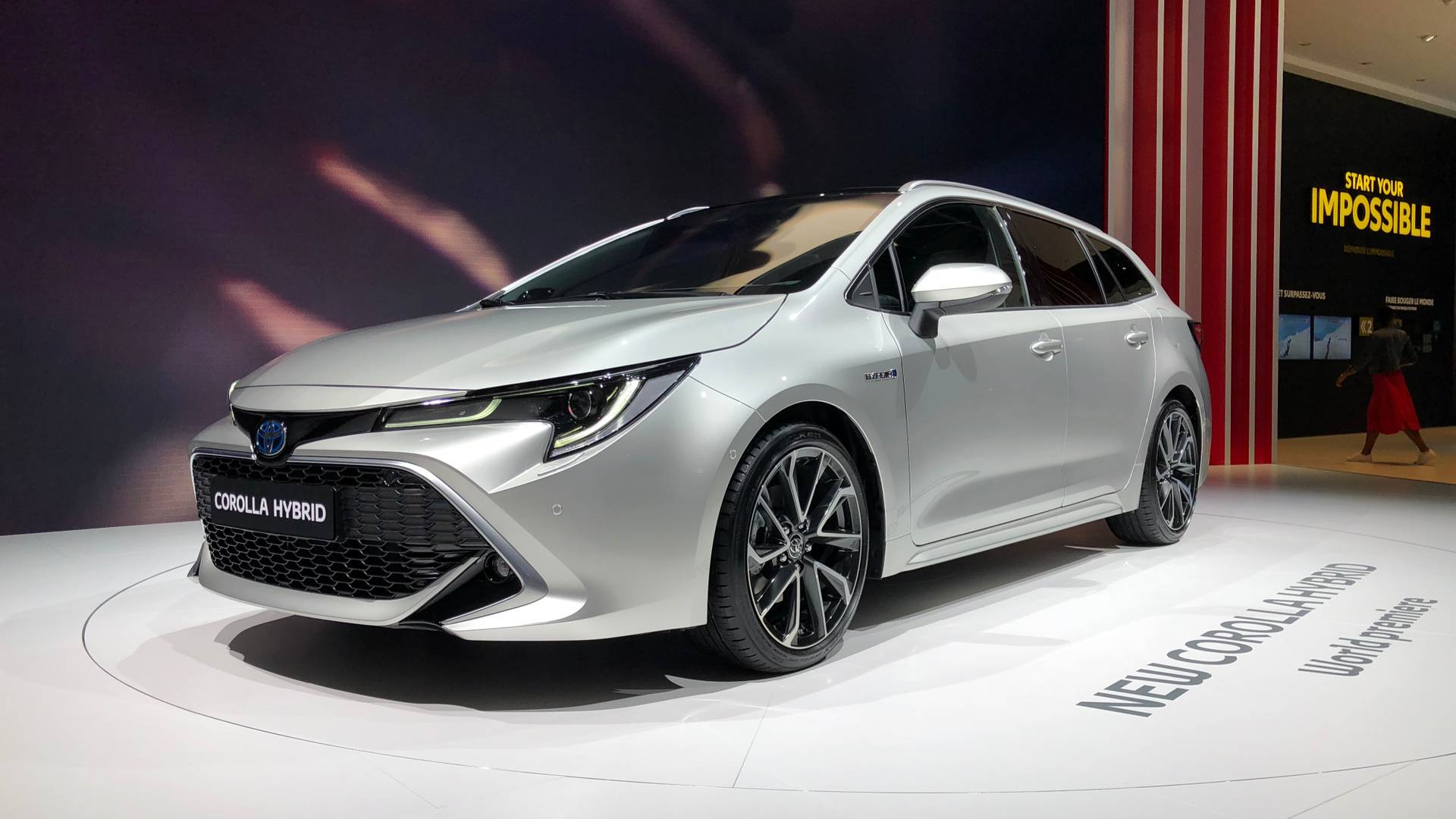 2019 Toyota Corolla Touring Sports Revealed With Massive Boot