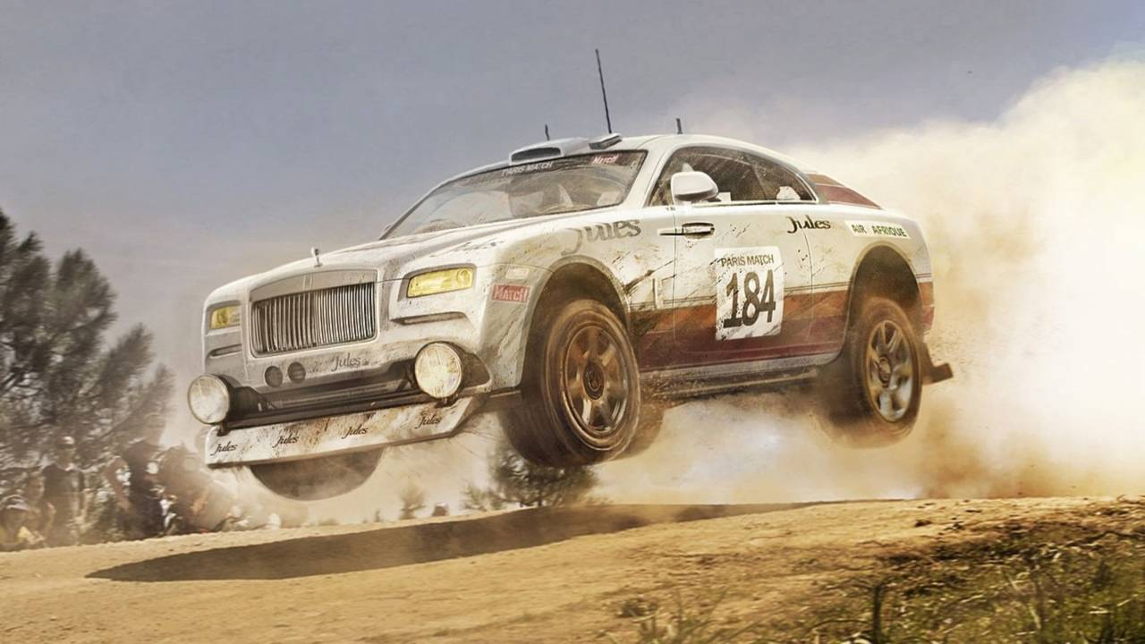 Rolls-Royce Wraith 4x4 Off Road Edition