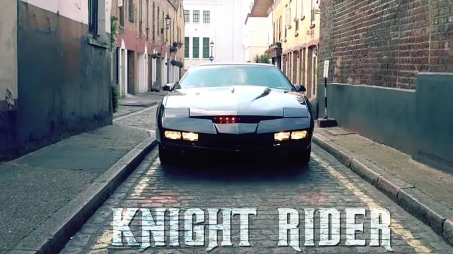 Decades On, KITT Is Still A Sight To Behold