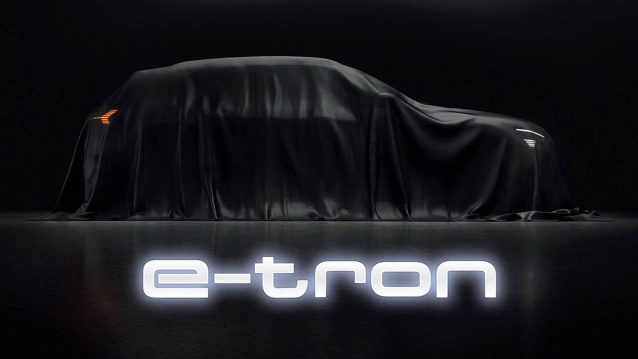 2019 Audi E-Tron teaser