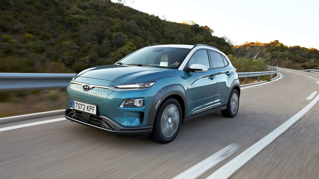 Primo test Hyundai Kona EV 2019