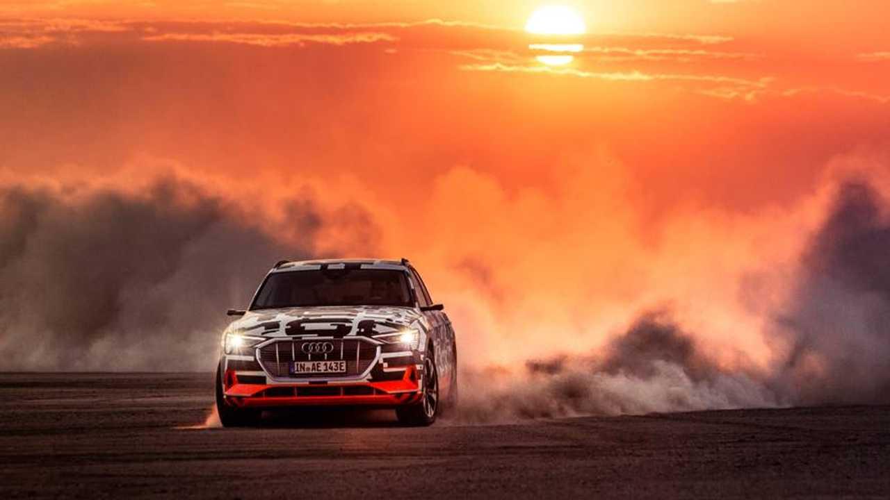 Audi e-tron test Namibia