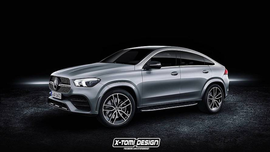 Новый Mercedes-Benz GLE Coupe застали на тестах