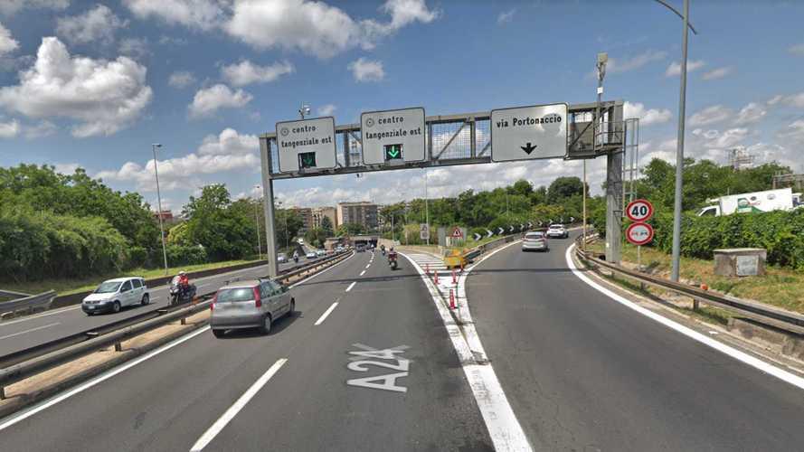 Il tratto urbano della A24 è la strada più pericolosa d'Italia
