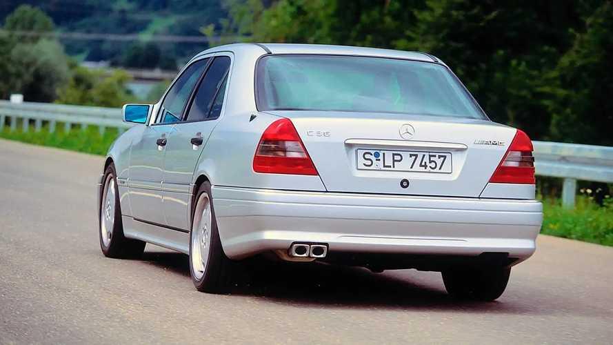 Mercedes C36 AMG, le foto storiche