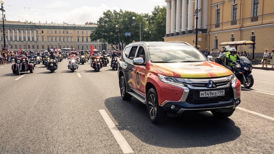 Что объединяет Harley-Davidson, Культурную столицу и Mitsubishi? Мотофестиваль St.Petersburg Harley Days