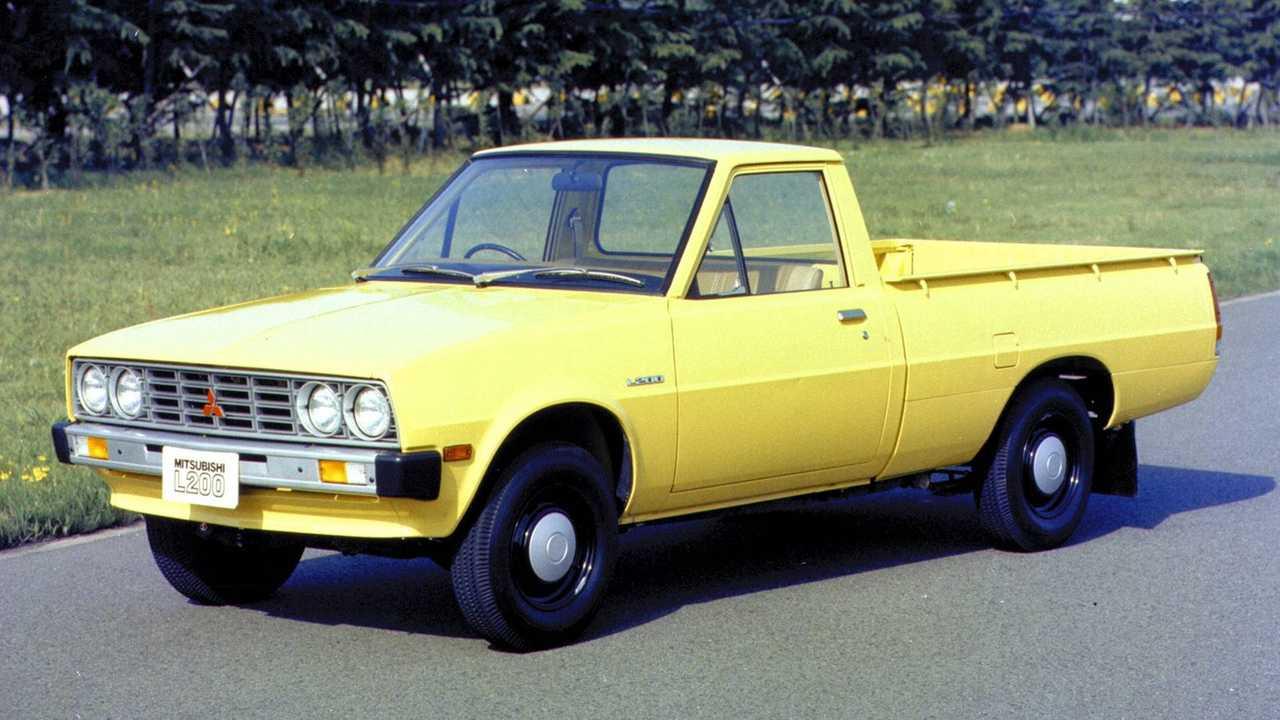 Mitsubishi L200, le foto storiche