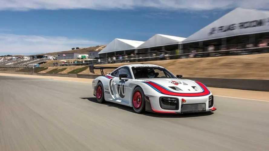 Porsche 935 2018, rodando en Laguna Seca