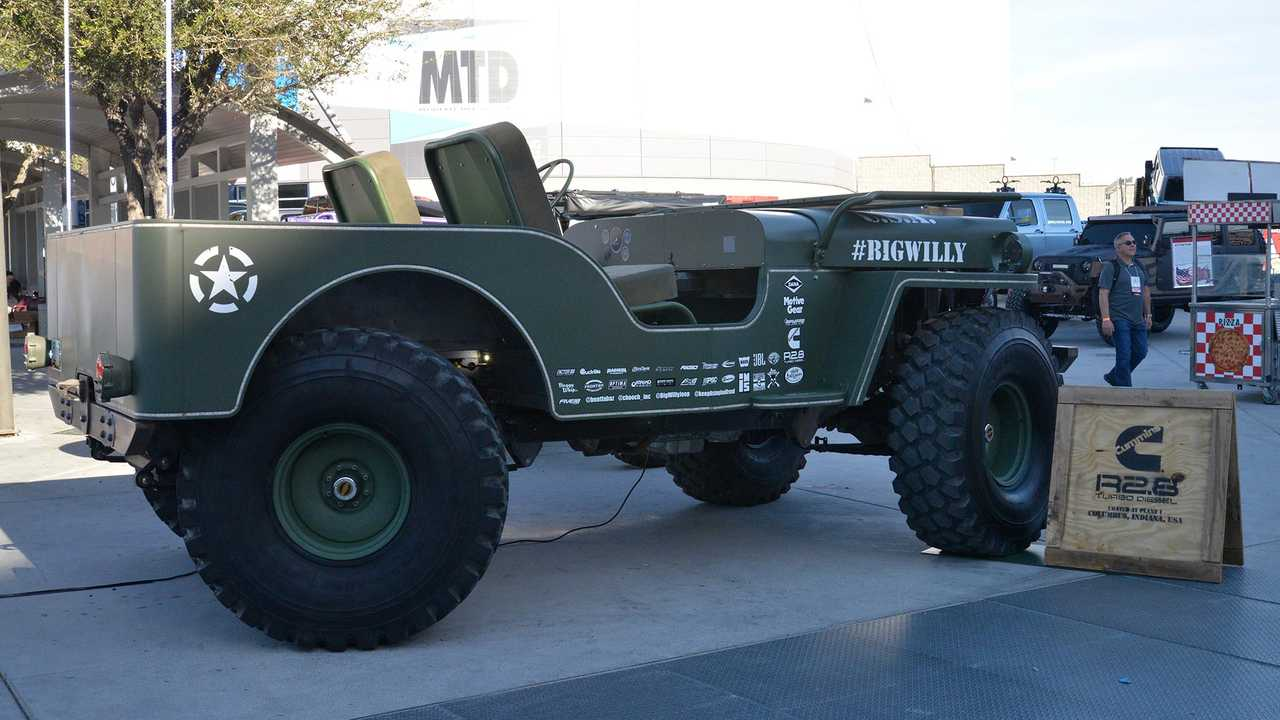 Big WIlly Jeep