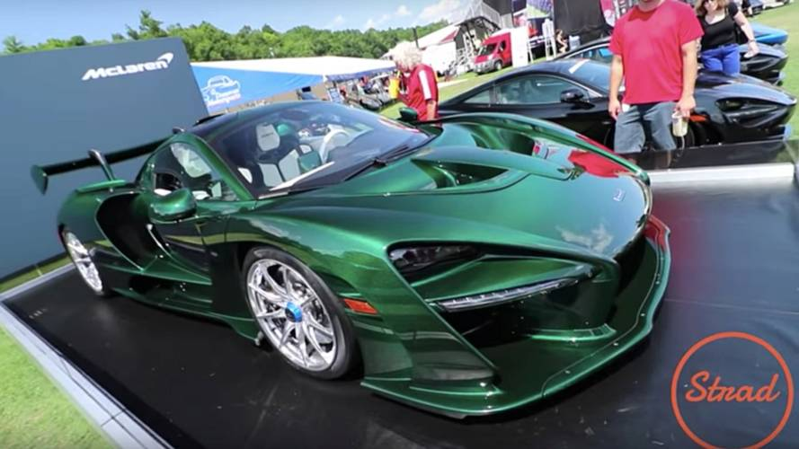 This McLaren Senna has £390K in carbon fibre upgrades