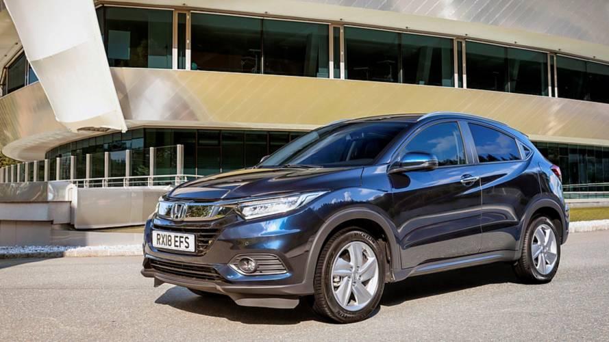 Honda HR-V Facelift mit neuem VTEC-Turbomotor vorgestellt