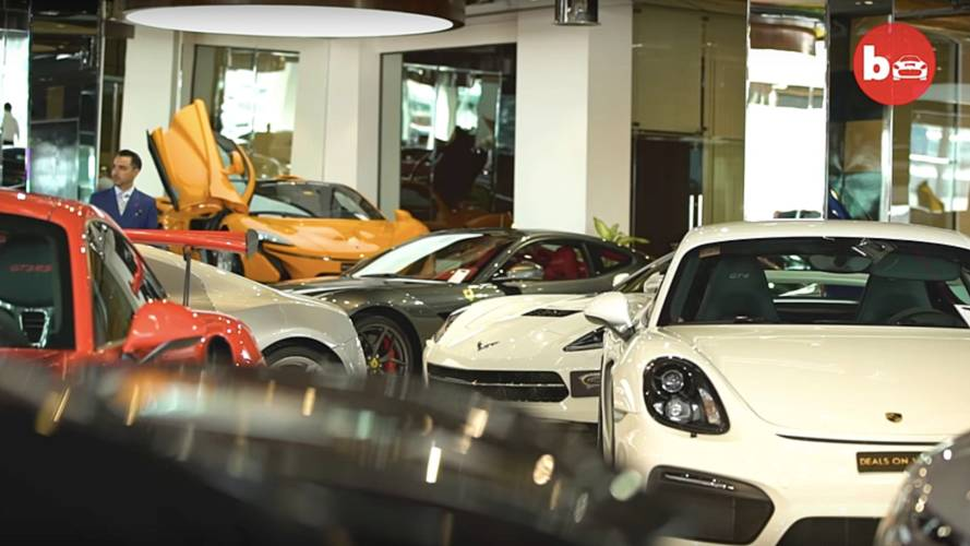 Dubai Dealer Has £34.3 Million Worth Of High-End Cars