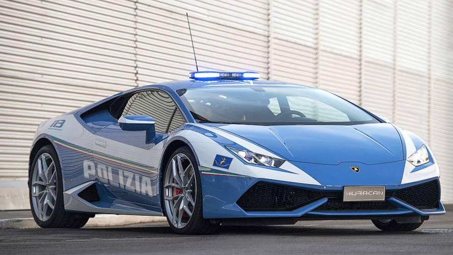 Un riñón 'entregado' por la policía italiana y su Lamborghini Huracán