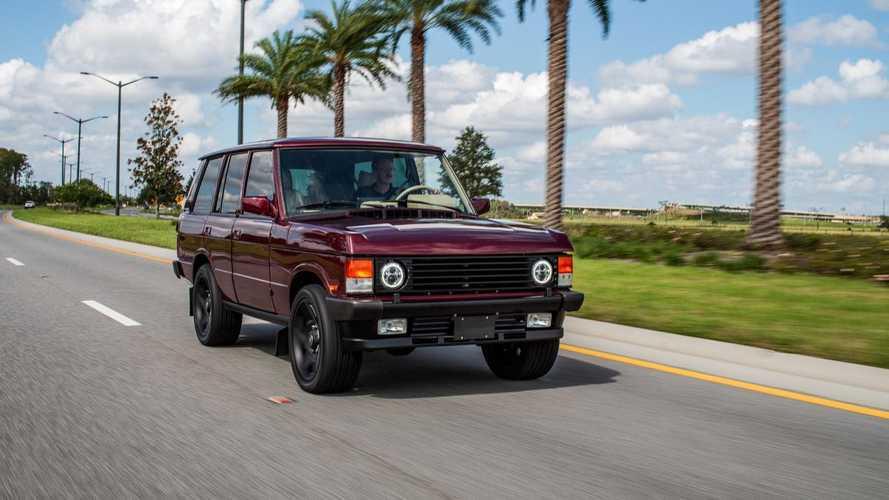 E.C.D Unveils Monstrous 6.2L V8 Range Rover Classic Restomod