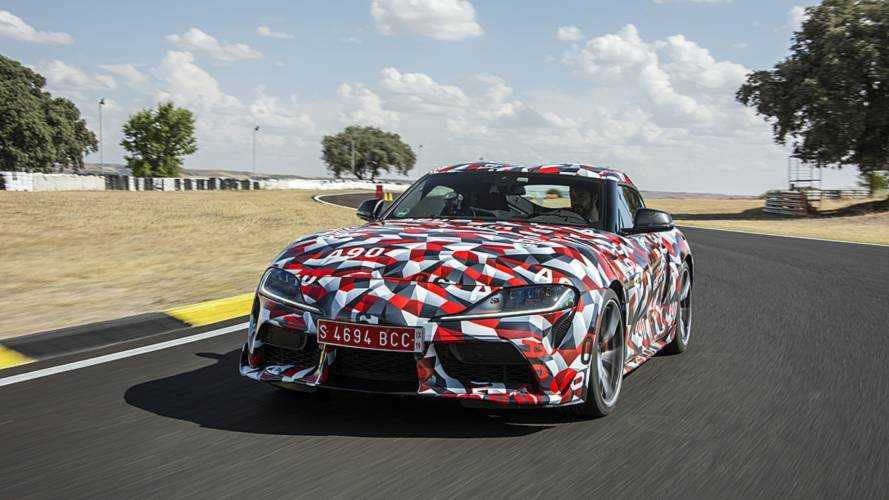 Jari-Matti Latvala pilota el Toyota Supra 2019 en el Jarama