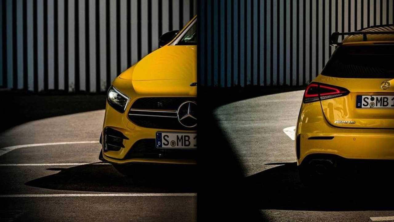 Mercedes-AMG A 35 teaser
