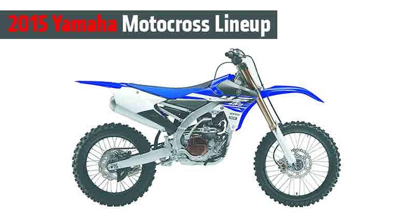 2015 Yamaha Motocross Lineup