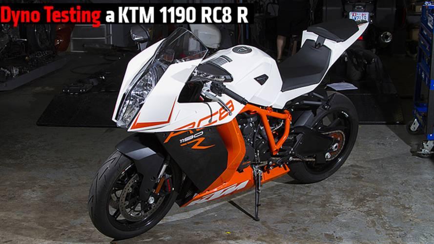 Dyno Testing a KTM RC8 1190R