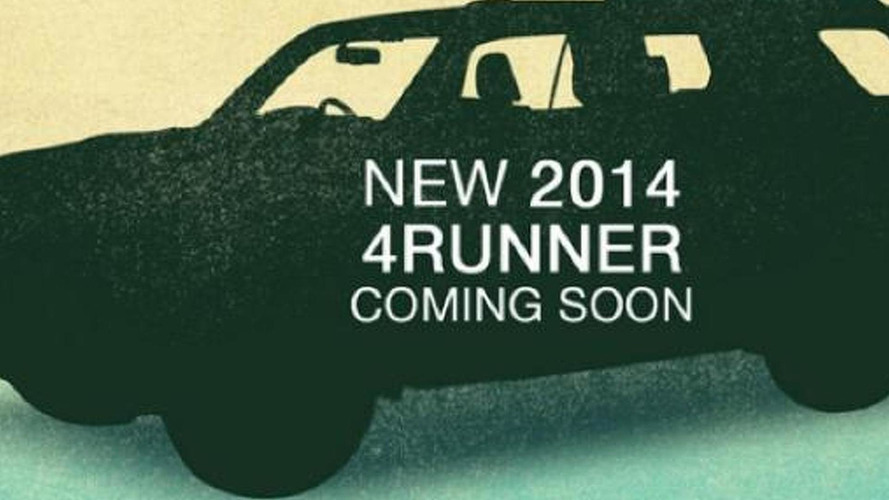 2014 Toyota 4Runner teased again