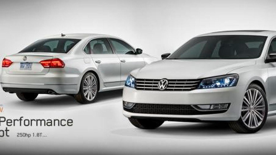 Volkswagen Passat Performance Concept revealed ahead of Detroit debut
