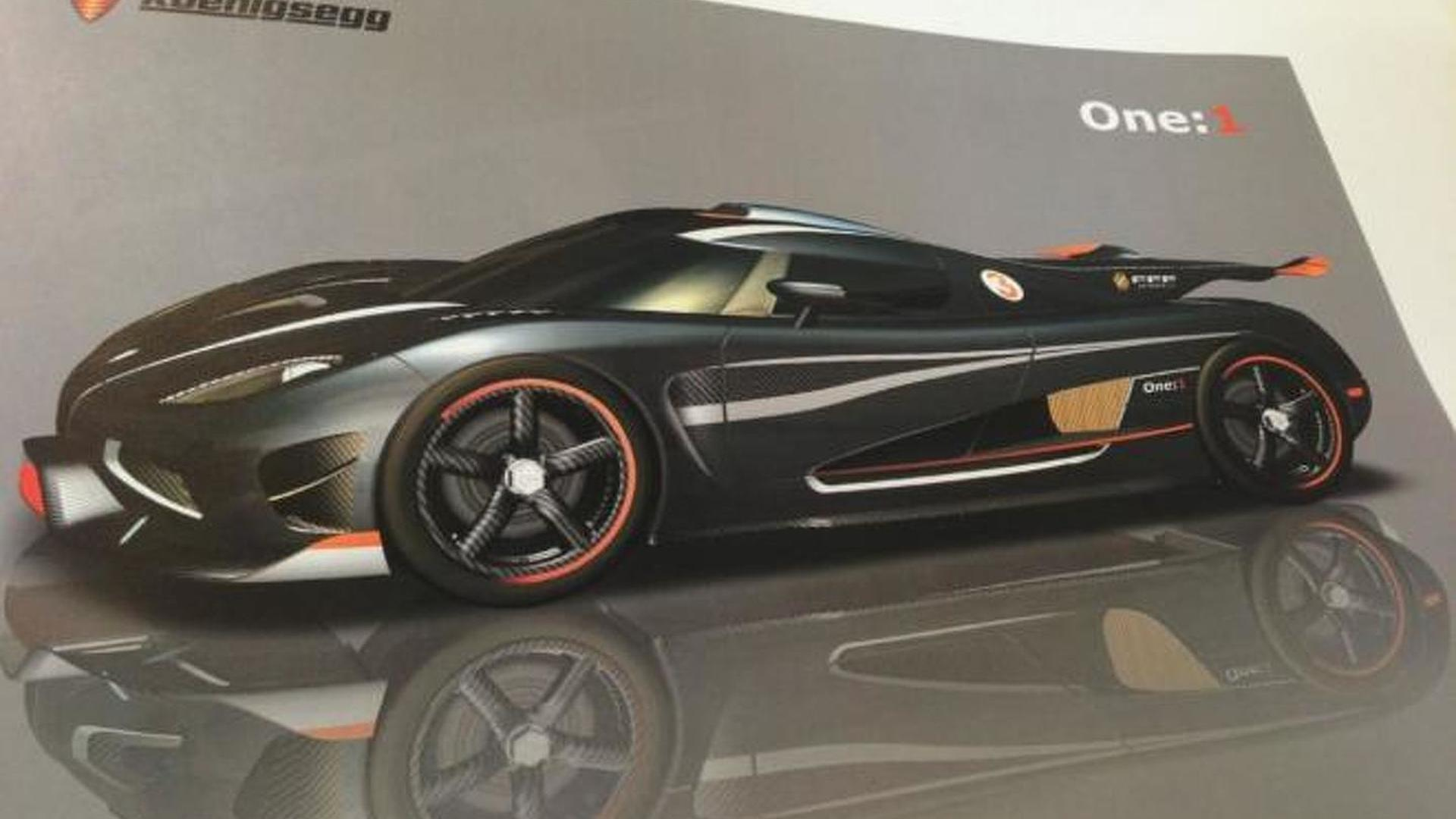 Koenigsegg One 1 More Details To Have 1 Hp 1 Kg Ratio