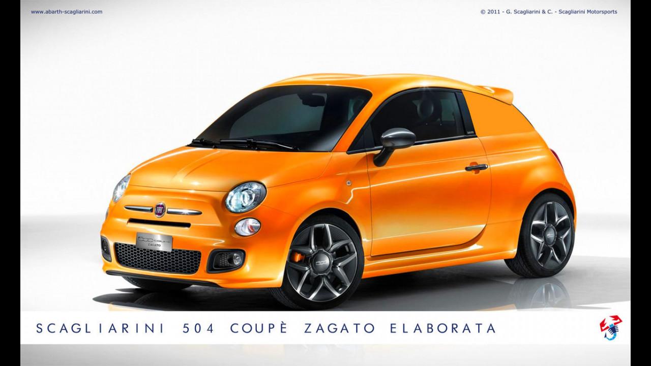 Scagliarini 504 Coupé Zagato Elaborata
